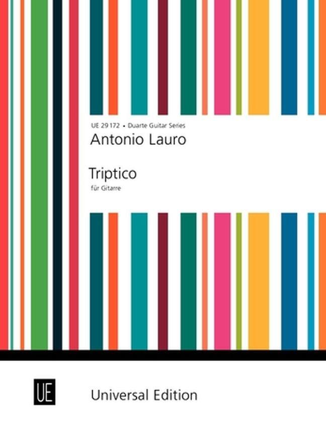 Antonio Lauro: Triptico: Guitar: Instrumental Work