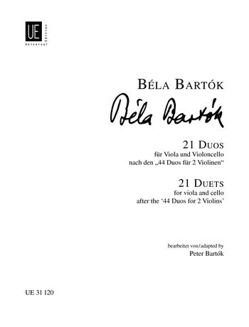 Béla Bartók: 21 Duets: Violin Duet: Instrumental Work