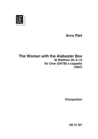 Arvo Pärt: The Woman with the Alabaster Box: SATB: Vocal Score
