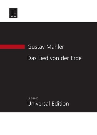 Gustav Mahler: Das Lied Der Erde: Vocal Ensemble: Score