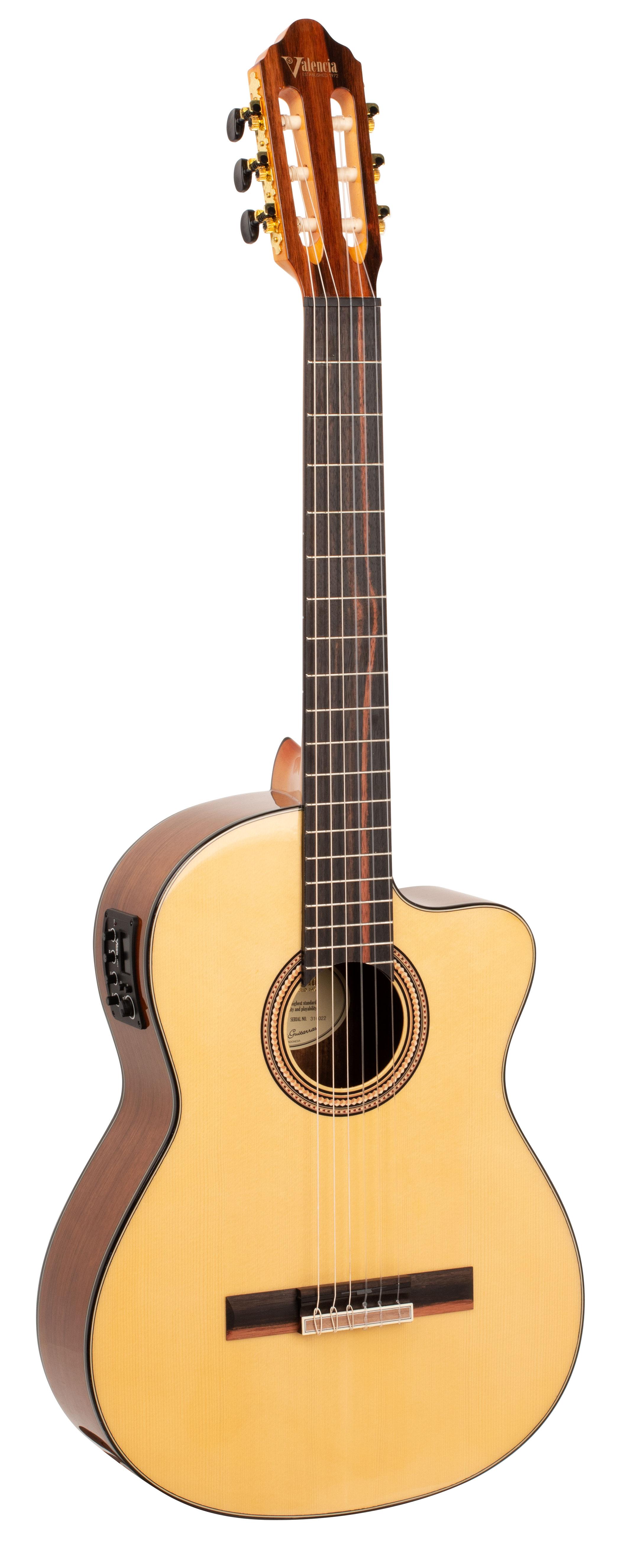VC564CE Cutaway Electro Classical Guitar Natural: Classical Guitar