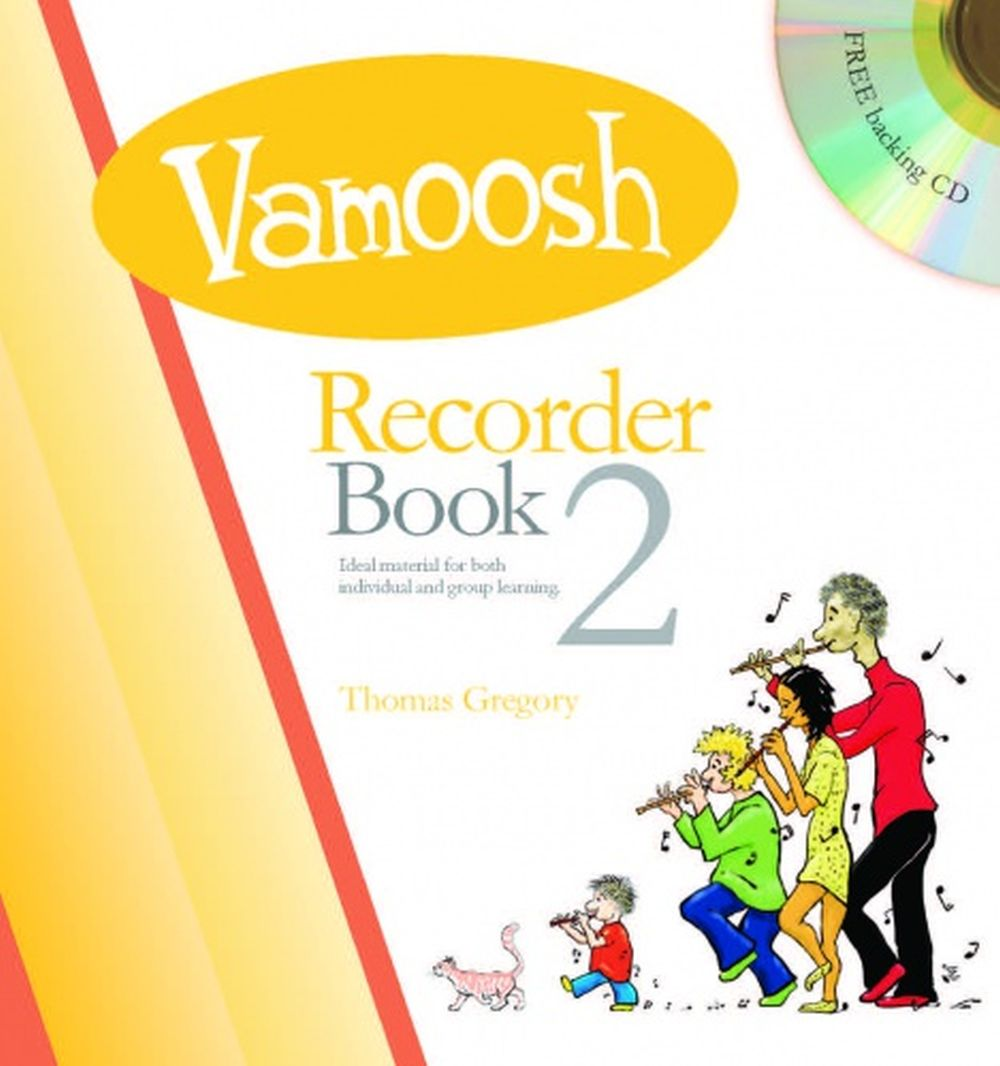 Thomas Gregory: Vamoosh Recorder Book 2: Recorder: Instrumental Tutor