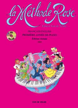 Ernest van de Velde: Méthode Rose 1ère année: Piano
