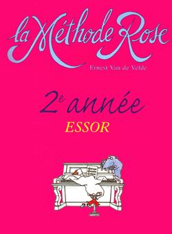 Ernest van de Velde: Méthode Rose 2ème année : l