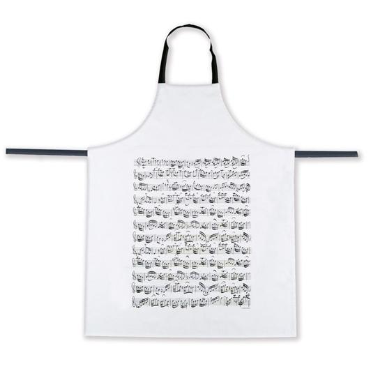 Apron Sheet music white: Kitchenware