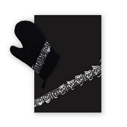 BBQ Gift Set - Glove And Apron: Kitchenware