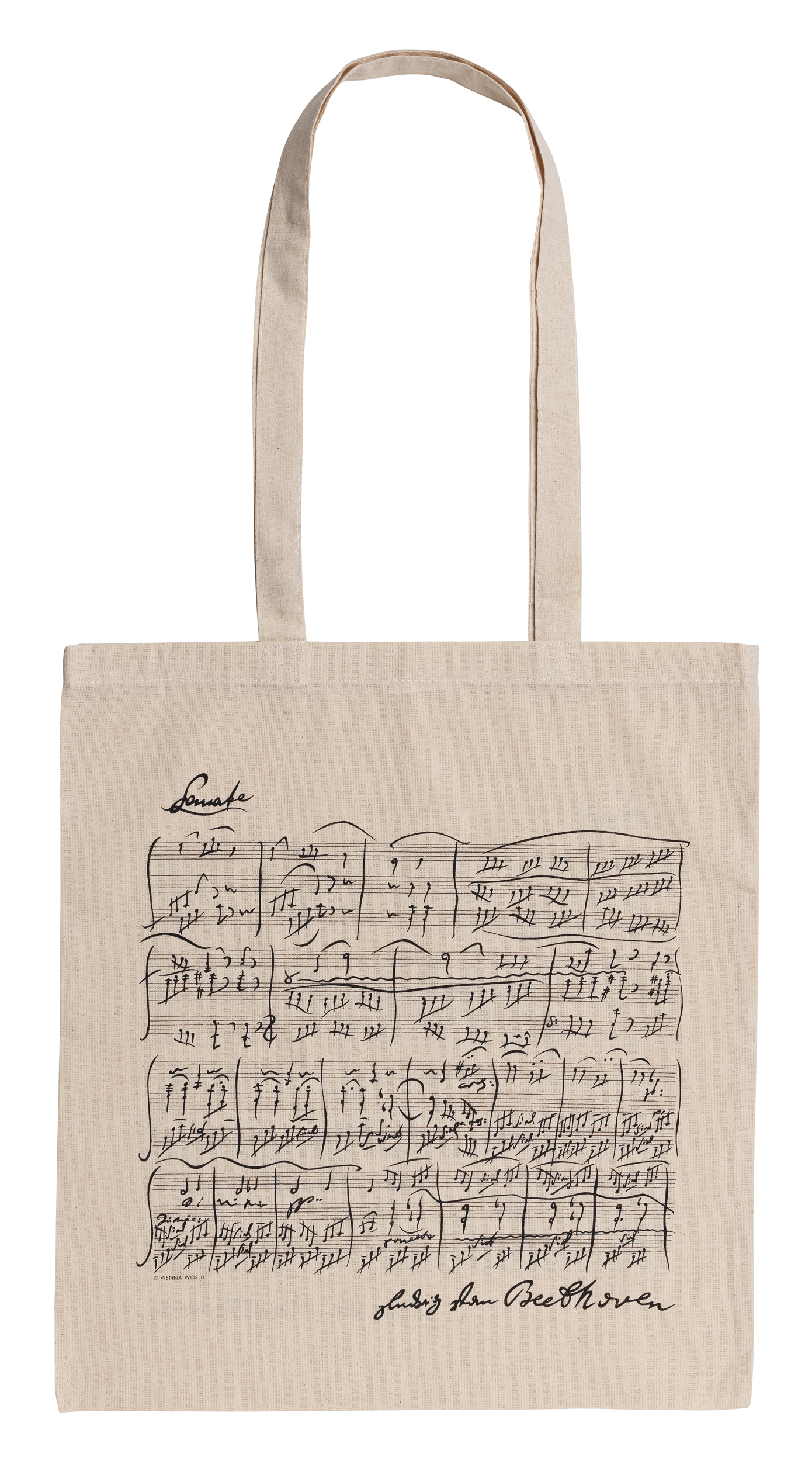 Beethoven white long: Accessory