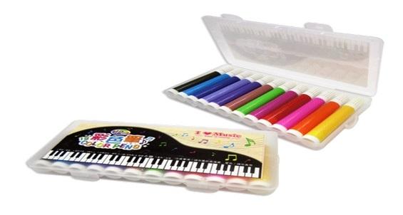 12 Colours Pen Set