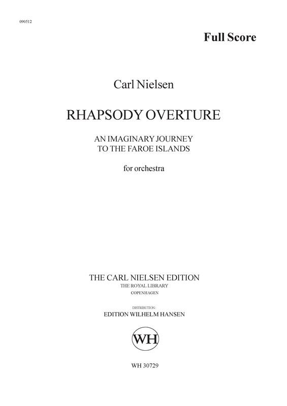 Carl Nielsen: Rhapsody Overture: Orchestra: Score