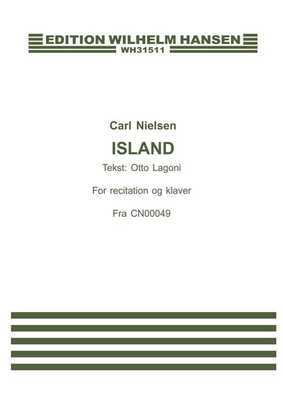 Carl Nielsen: Island: Voice: Score