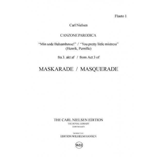 Carl Nielsen: Maskarade / Masquerade - Canzone Parodica: Opera: Parts