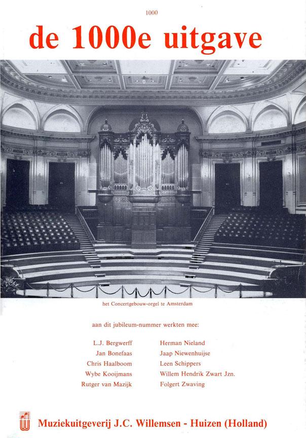 De 1000e uitgave: Organ: Instrumental Album