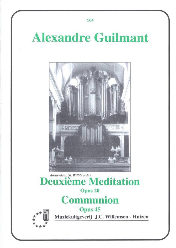 Alexandre Guilmant: Meditation 2 Opus 20 & Communion: Piano: Instrumental Album