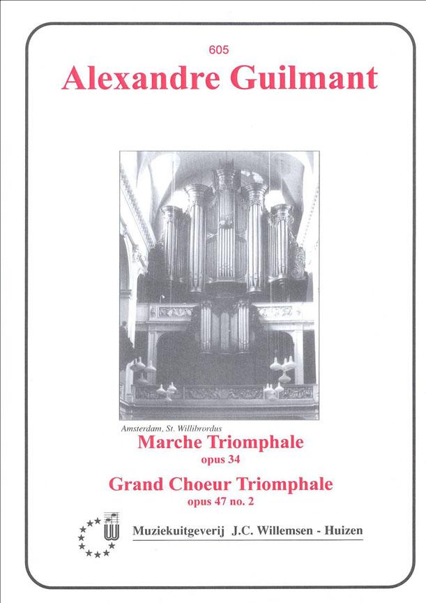 Alexandre Guilmant: Marche Triomphale Op.34 & Grand Choeur Triomphale: Piano: