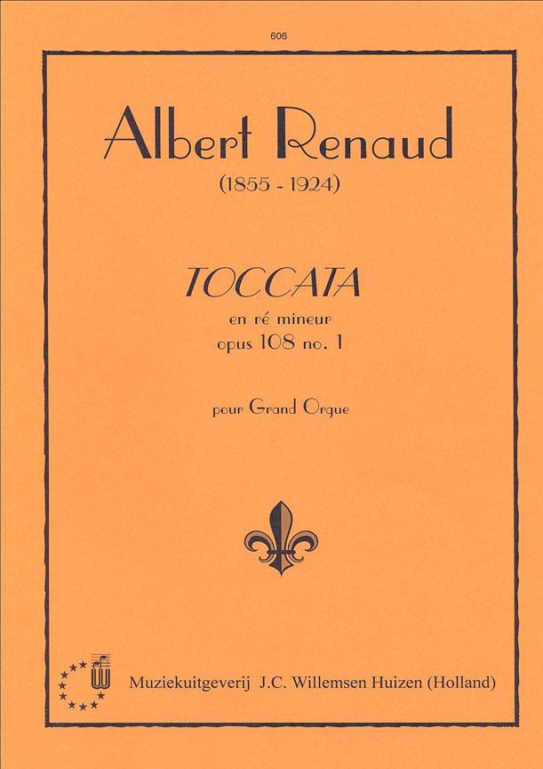 Albert Renaud: Toccata D Opus 108 no.1: Organ: Instrumental Album