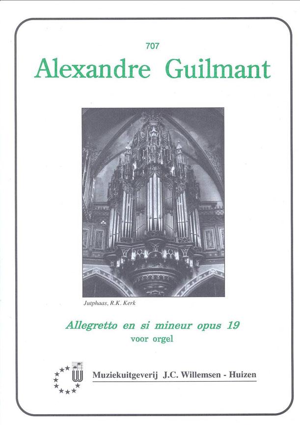 Alexandre Guilmant: Allegretto in si mineur Op.19: Organ: Instrumental Album