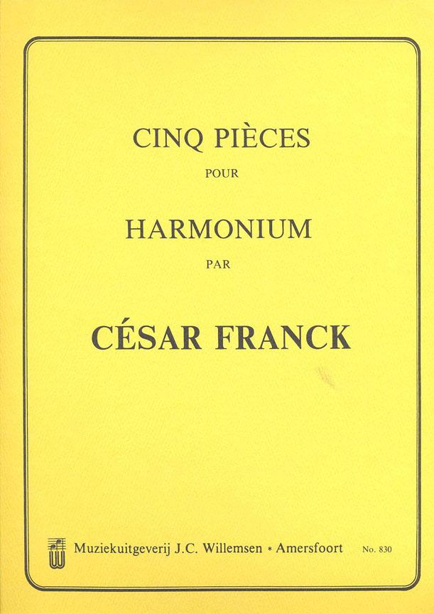 César Franck: 5 Pieces pour Harmonium: Harmonium: Instrumental Album