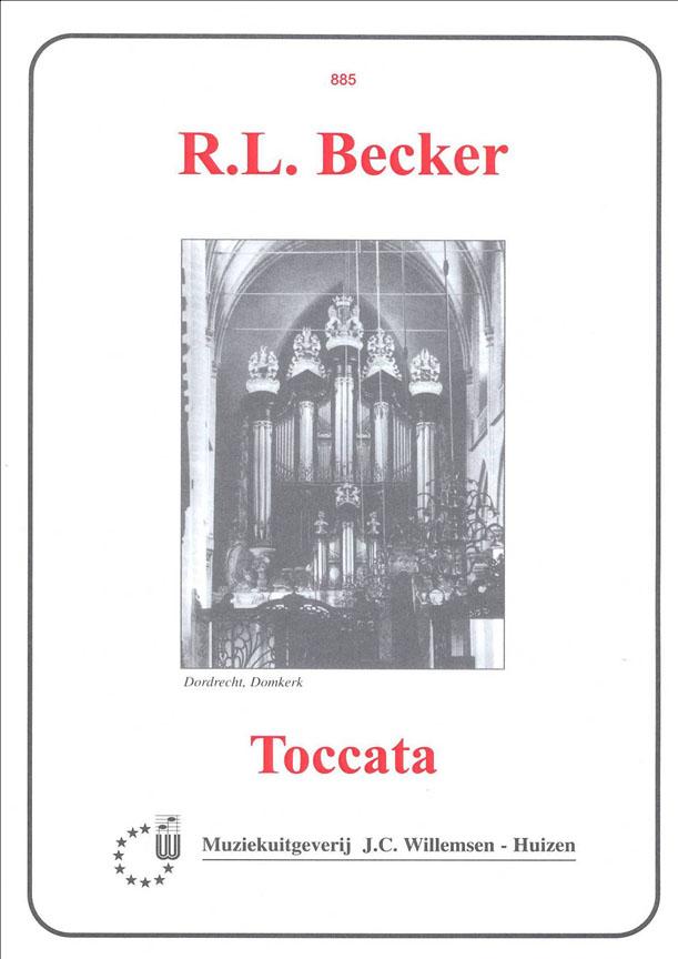 Becker: Toccata: Organ: Instrumental Album