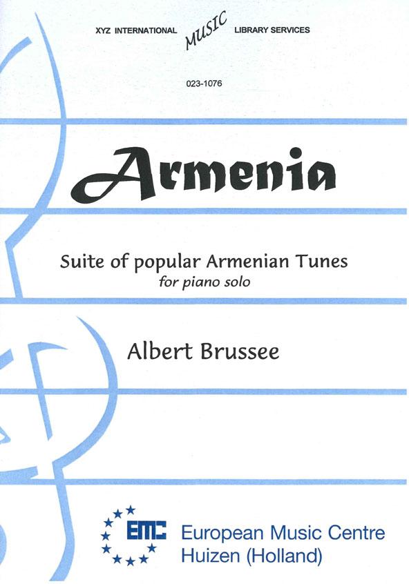 A. Brussee: Armenia: Piano: Instrumental Album