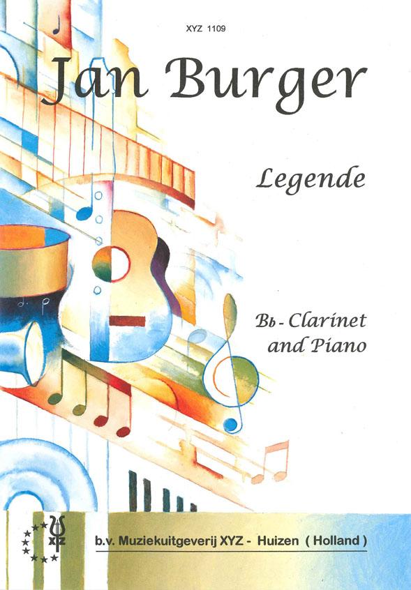 A. Burger: Legende: Clarinet: Instrumental Work