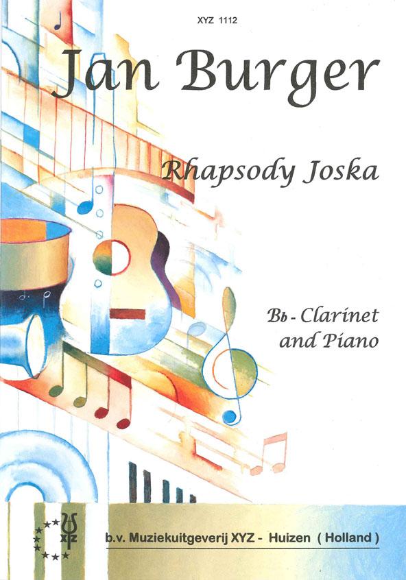 A. Burger: Rhapsody Joska: Clarinet: Instrumental Work