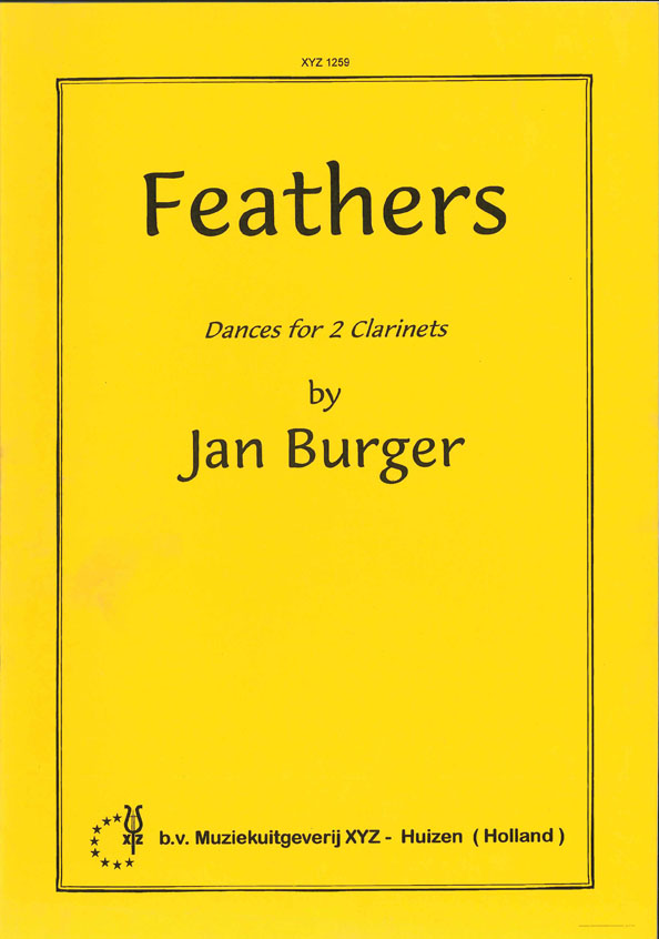 A. Burger: Feathers: Clarinet Duet: Instrumental Work