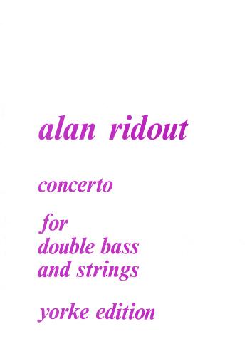 Alan Ridout: Concerto (1974): Double Bass: Instrumental Album