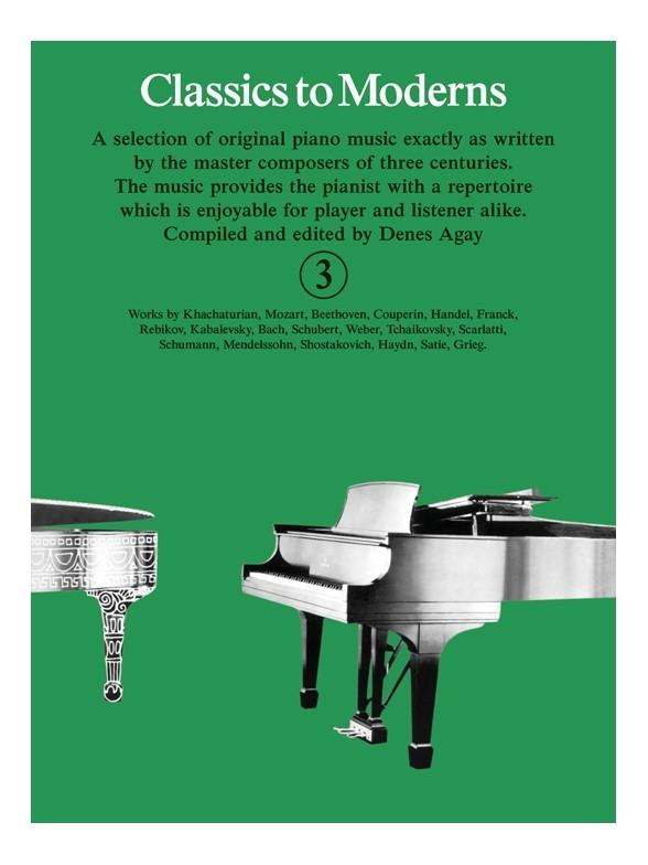 Denes Agay: Classics To Moderns 3: Piano: Instrumental Album
