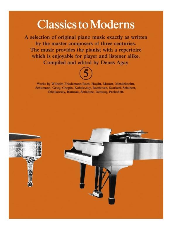 Denes Agay: Classics To Moderns 5: Piano: Instrumental Album