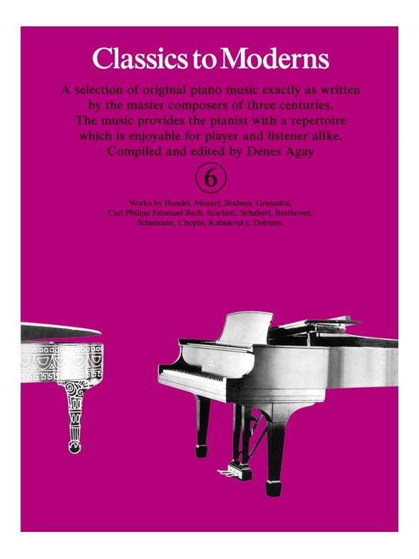 Denes Agay: Classics To Moderns 6: Piano: Instrumental Album