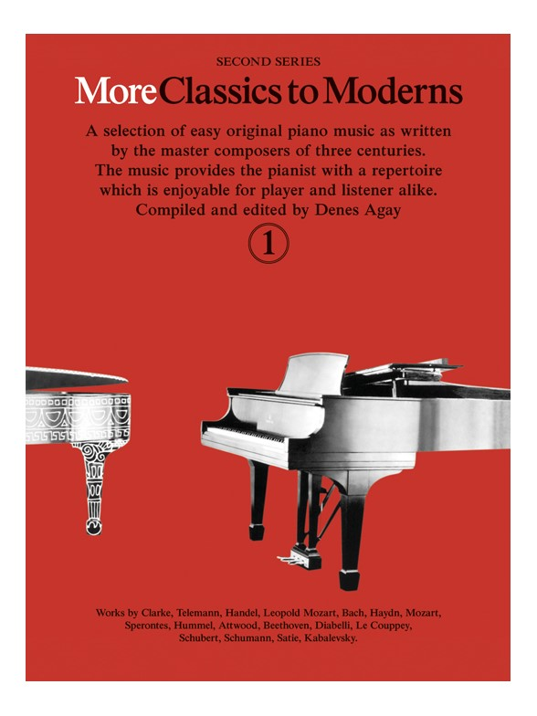 Denes Agay: More Classics To Moderns 1: Piano: Instrumental Album