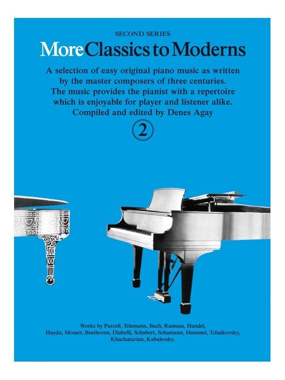 Denes Agay: More Classics To Moderns 2: Piano: Instrumental Album