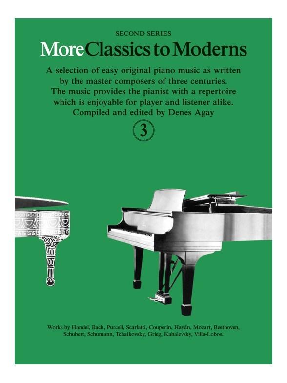 Denes Agay: More Classics To Moderns 3: Piano: Instrumental Album