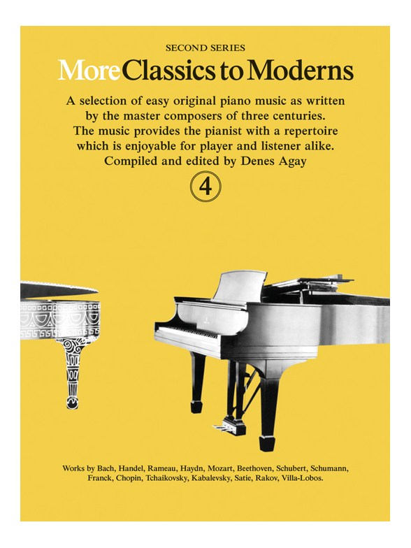 Denes Agay: More Classics To Moderns 4: Piano: Instrumental Album