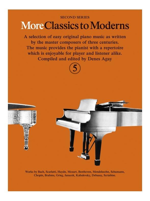 Denes Agay: More Classics To Moderns 5: Piano: Instrumental Album