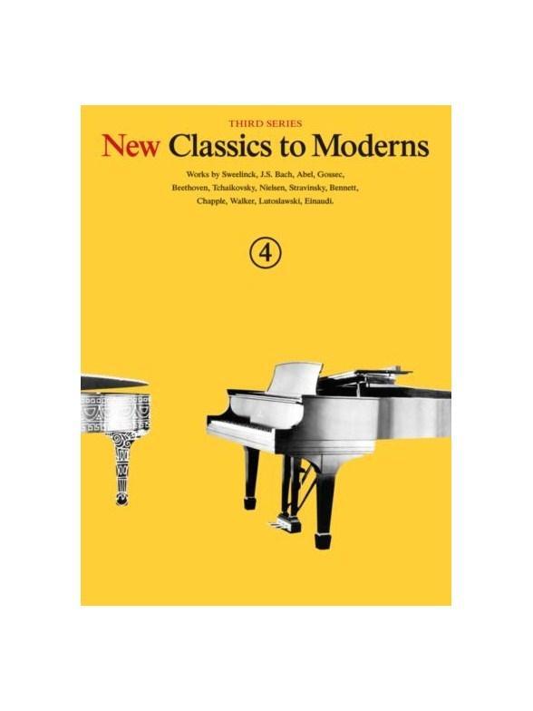 Denes Agay: New Classics to Moderns Book 4: Piano: Instrumental Album