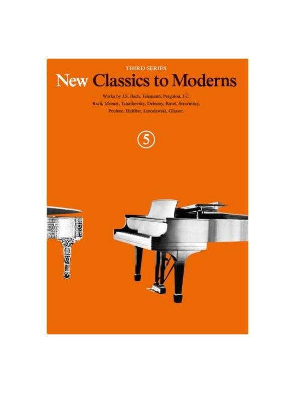Denes Agay: New Classics to Moderns Book 5: Piano: Instrumental Album