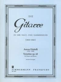 Anton Diabelli: Sonatine op. 68: Guitar: Instrumental Work