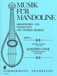 Antonio Vivaldi: Concerto In C For 2 Mandolins And Guitar: Mandolin: