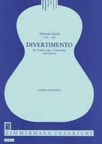 Antonin Kraft: Divertimento: Cello: Instrumental Work