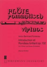 Anton Bernhard Fürstenau: Introduction et Rondeau brillant op. 132: Flute Duet: