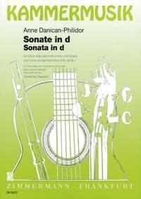 Anne Danican-Philidor: Sonate d-Moll: Oboe: Instrumental Work