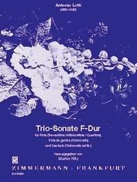 Antonio Lotti: Trio-Sonate F-Dur: Ensemble: Score and Parts