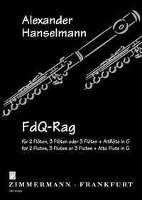 Alexander Hanselmann: Lute-Book Lullaby: Flute Ensemble: Score and Parts