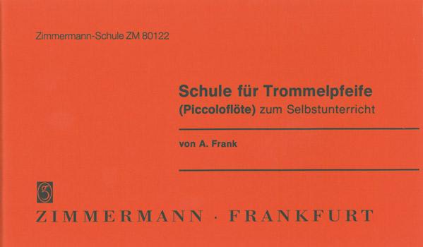 A. Frank Richard Hofmann: Schule Fur Piccoloflote: Piccolo: Instrumental Tutor