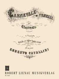 Ernesto Cavallini: Carnival Of Venice E Flat Clarinet: Clarinet: Instrumental