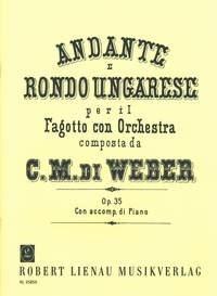 Carl Maria von Weber: Andante E Rondo Ungaresse Op.35: Bassoon: Instrumental